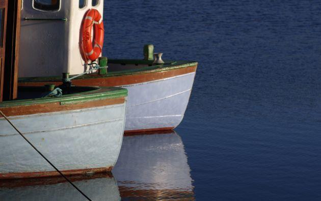 Los detenidos se transportaban en una embarcación en aguas del Pacífico de Guatemala. Foto: Referencial