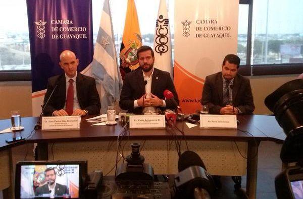 Foto: Twitter / Cámara Comercio Guayaquil