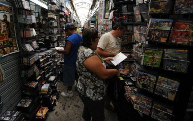 Los robos se dan en las zonas comerciales. Foto: Archivo Vistazo