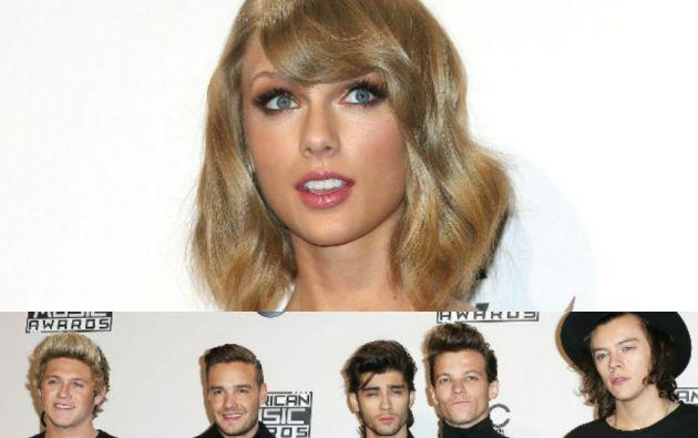 Taylor Swift recibió el premio a la excelencia de manos de la legendaria Diana Ross.