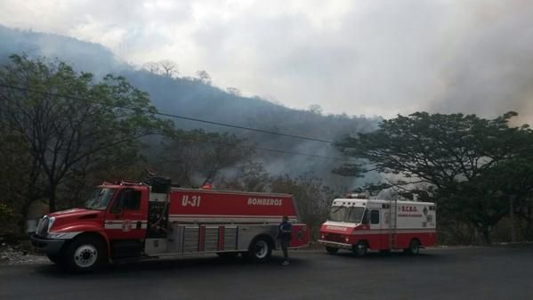 Foto: Twitter / Cuerpo Bomberos Guayaquil
