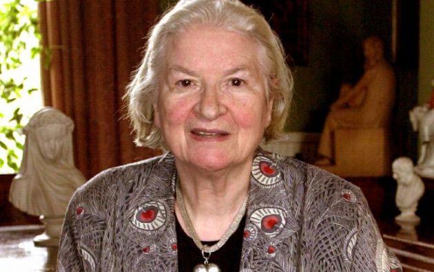 La escritora murió el jueves a los 94 años. Foto: AFP