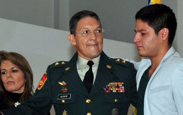 El General junto a su familia. Foto: AFP