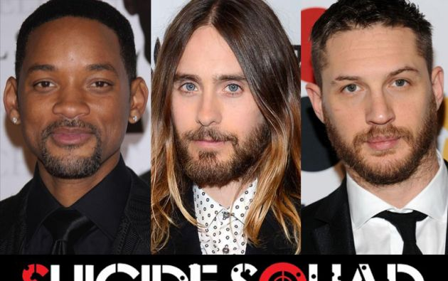 "Will Smith, Jared Leto y Tom Hardy serán parte de ""Suicide Squad""."