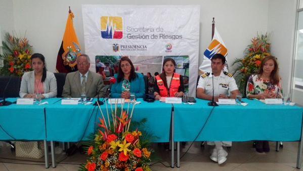 Foto: Twitter / Riesgos Ecuador