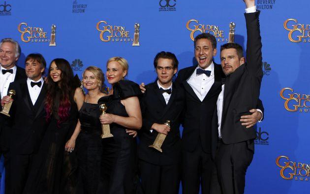 El elenco de Boyhood. Foto: REUTERS/Mike Blake