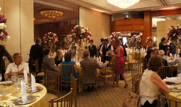 El evento fue en un hotel de la ciudad. Foto: Ecuavisa.
