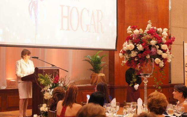 Rosa Amelia Alvarado Roca, directora fundadora de Hogar. Foto: Ecuavisa