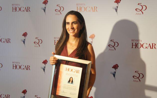María Gabriela Alemán, escritora ecuatoriana. Foto: Ecuavisa