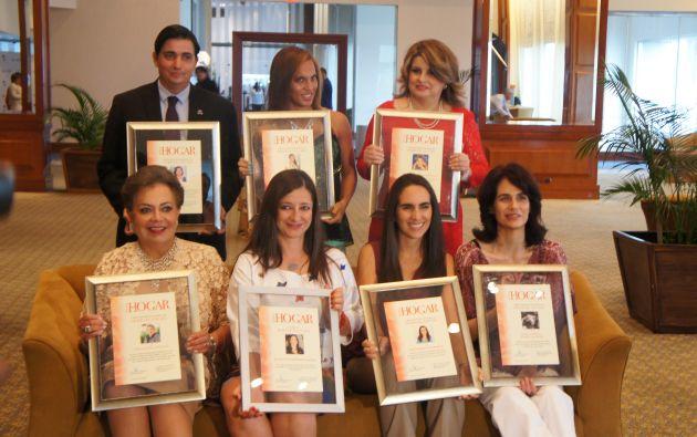 'Mujeres del año'. Foto: Ecuavisa.