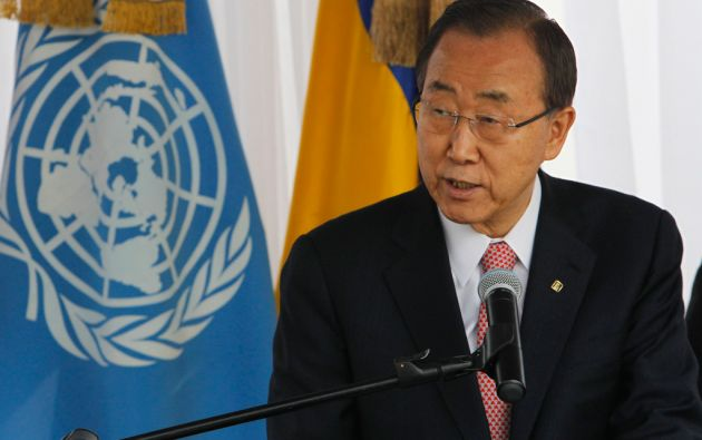 Ban Ki-moon, secretario general de la ONU. Foto: REUTERS/Jorge Cabrera