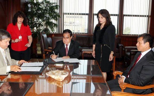 Foto: Ministerio de Relaciones Laborales