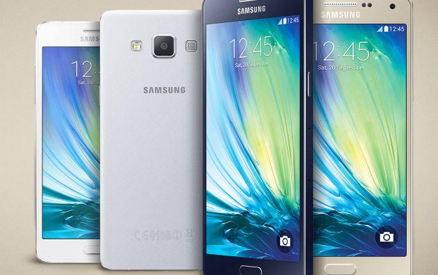 """La línea Galaxy A está orientada a los """"millenials"""", usuarios jóvenes de entre 15 y 25 años."""