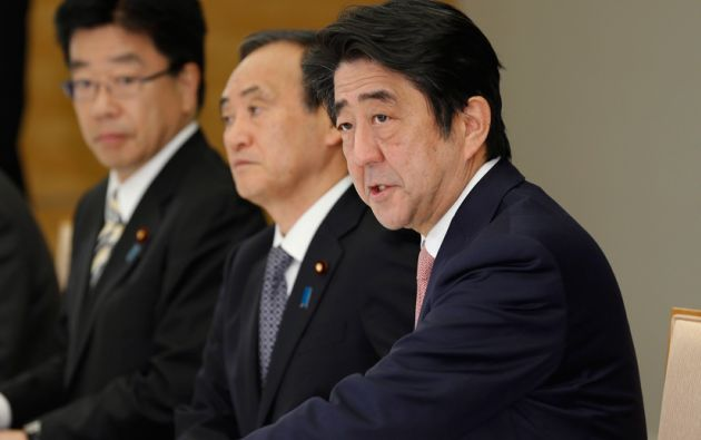Shinzo Abe, primer ministro japonés. Foto: REUTERS/Shizuo Kambayashi