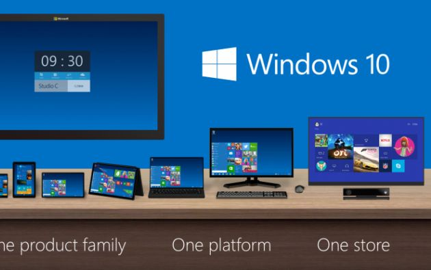 Windows 10 se adaptará a cada dispositivo según las características de su pantalla.