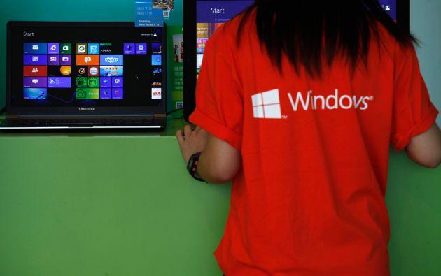 Microsoft pretende homogeneizar los sistemas de todos los usuarios del sistema Windows. Foto: REUTERS