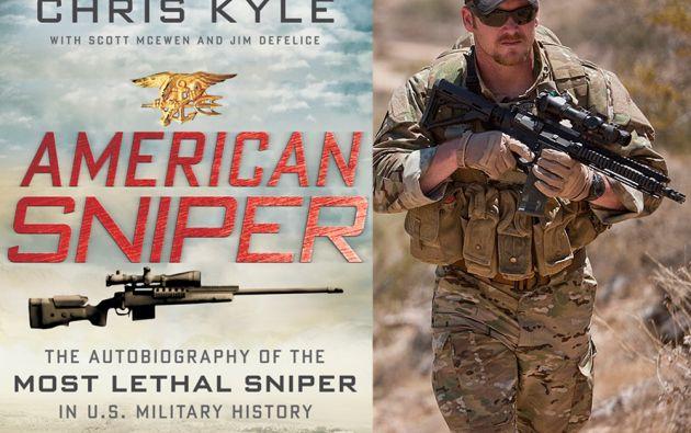 La película se basa en las memorias de Chris Kyle, ex Navy Seal.