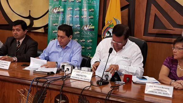Foto: Twitter / Prefectura del Guayas