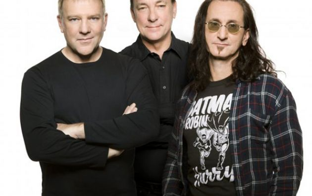 Alex Lifeson, Neil Peart y Geddy Lee, integrantes de RUSH.