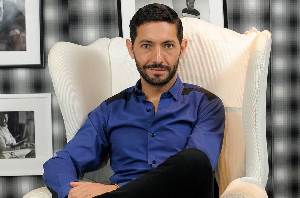 Gustavo Moscoso, diseñador ecuatoriano. Foto Freddy Moreno