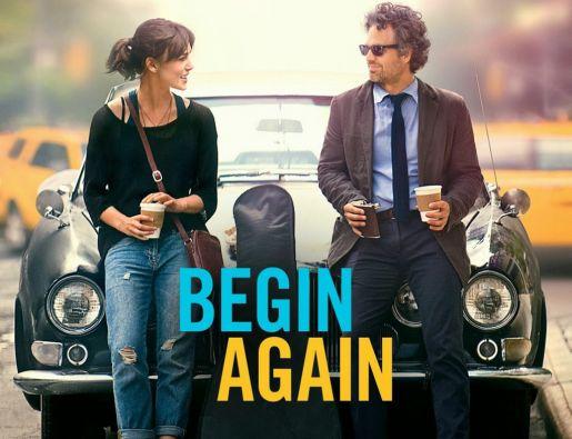 """Keira Knightley y Mark Ruffalo son los protagonistas de """"Begin Again""""."""