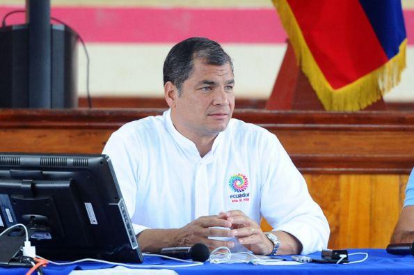 """""""Conocimiento más innovación, ése es un mensaje que llevamos a la Cumbre"""", manifestó el presidente Correa. Foto: FLICKR/Presidencia de Ecuador"""