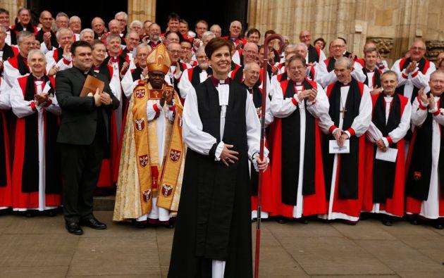 El nombramiento de Libby Lane marca un hito en la Iglesia de Inglaterra. Foto: REUTERS/Phil Noble