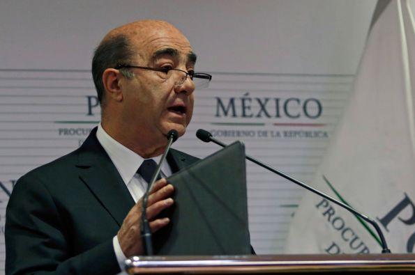 Jesús Murillo, fiscal general de México. Foto: REUTERS