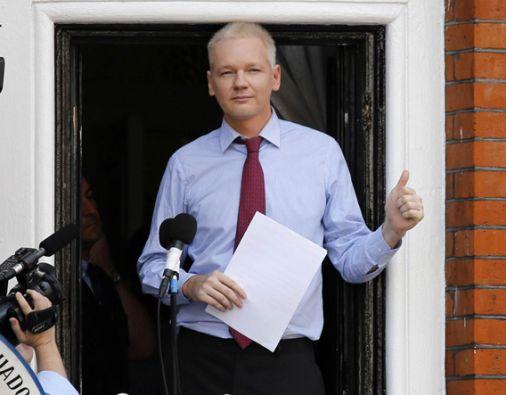 Julian Assange permanece refugiado en la embajada de Ecuador en Londres desde el 2012. Foto: Reuters