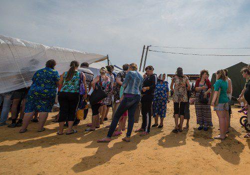 El conflicto entre Rusia y Ucrania dejó miles de desplazados.