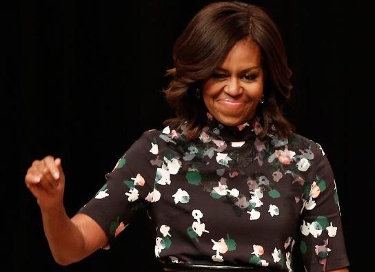 Michelle Obama, primera dama de EEUU. Foto: REUTERS