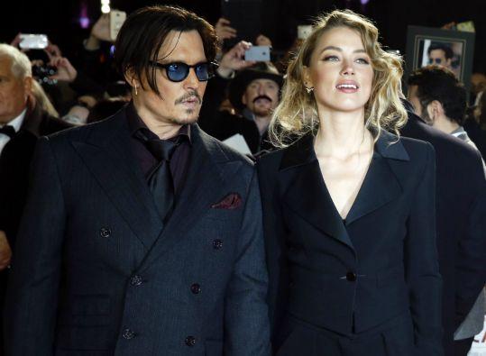 Depp y Heard se comprometieron a finales de 2013. Foto: REUTERS
