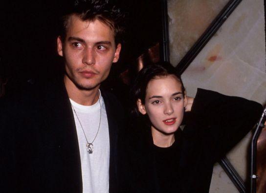 Johnny Depp y Winona Ryder fueron una de las parejas que más llamaron la atención en la década de los 90.