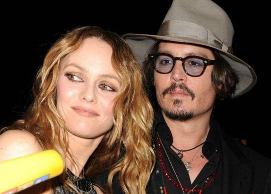 El actor mantuvo una relación de 13 años con la francesa Vanessa Paradis.