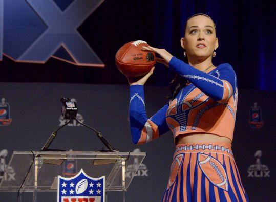 Katy Perry estará en el show del medio tiempo. Foto: REUTERS / Kirby Lee / USA TODAY Sports