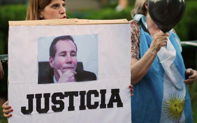 La percepción de que la muerte del fiscal Alberto Nisman quedará en la impunidad llega al 71,8%. Foto: REUTERS