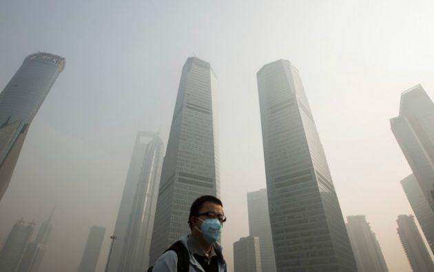 Ocho de las diez ciudades más contaminadas en 2014 son la región que rodea a Pekín. Foto: REUTERS