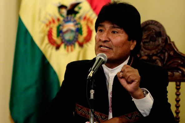 Evo Morales, presidente de Bolivia. Foto: REUTERS