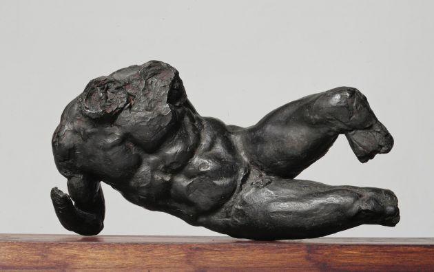 River God, obra de Miguel Ángel. Foto: University of Cambridge