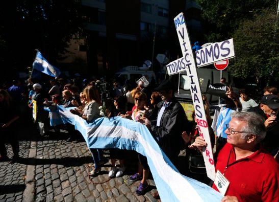 Los argentinos han organizado una serie de protestas por la muerte de Nisman. Foto: REUTERS
