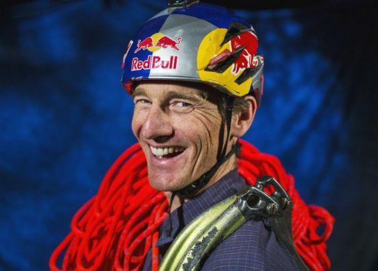 Gadd fue nombrado por la sociedad National Geographic como el aventurero del año. Foto: REUTERS
