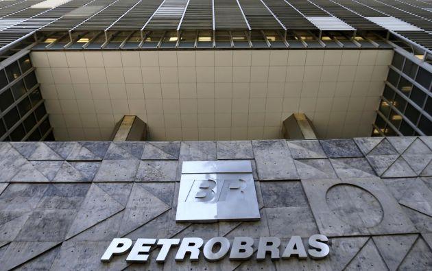 Oficina matriz de Petrobras en Río de Janeiro.
