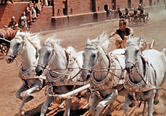 """La """"Ben-Hur"""" de 1959 consiguió 11 Premios Oscar."""