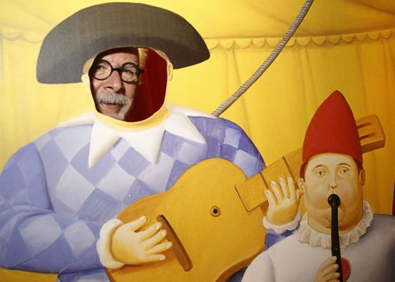 """""""Yo hice mi circo como lo entiendo"""", explicó el artista. Foto: REUTERS"""