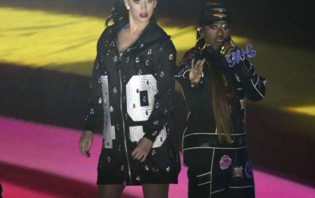 La actuación de Katy Perry a su término generó 284.000 mensajes al minuto. Foto: REUTERS / Kirby Lee / USA TODAY Sports