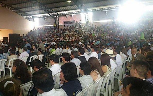 Foto: Twitter Gobernación de Manabí.