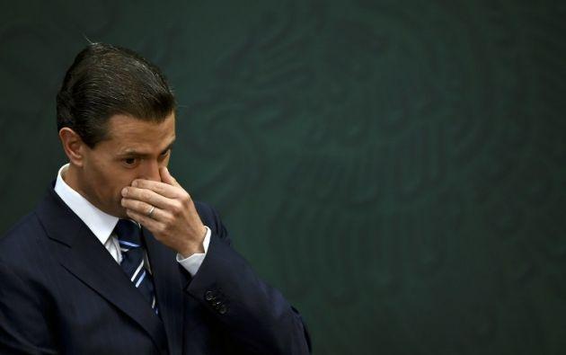 Presidente Enrique Peña Nieto. Foto: AFP