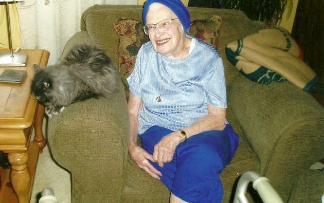 Edith Macefield murió en 2008 a los 86 años y, paradójicamente, legó su casa al supervisor de las obras del nuevo edificio.