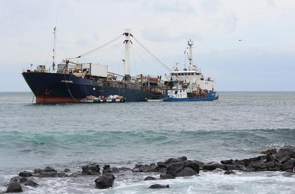 Buque Floreana. Foto: Consejo de Gobierno de Galápagos