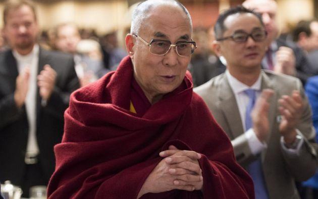 El Dalai Lama asistió al Desayuno de Oración Nacional en Washington, D.C. Foto: AFP